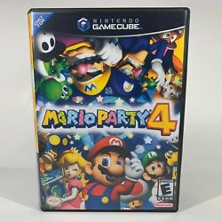 Kyпить GameCube Replacement Case - Case Only NO GAME - Mario Party 4 на еВаy.соm
