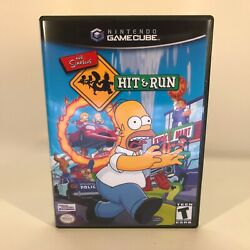 Kyпить GameCube Replacement Case - Case Only NO GAME - The Simpsons - Hit and Run на еВаy.соm