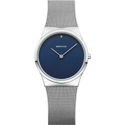 Kyпить Bering Women's Classic Blue Dial Stainless Steel Watch 12130-007 на еВаy.соm