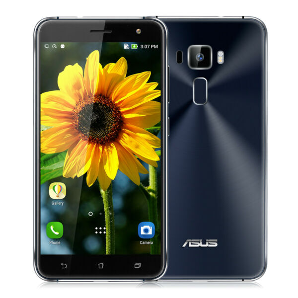 ASUS Zenfone 3 Cellulare 4GB+128GB Snapdragon 625 Octa-Core 16MP 3000mAh Nero EU