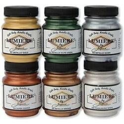 Kyпить Jacquard Lumiere Acrylic Paint- 2.25oz All Colors на еВаy.соm