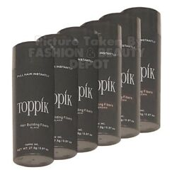 Kyпить Toppik Dark Brown Black Medium Brown Gray 27.5g Hair Building Thickening Fibers на еВаy.соm
