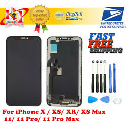 Kyпить US iPhone X XS XR Max 11 Pro OLED LCD Display Touch Screen Digitizer Replacement на еВаy.соm