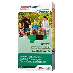 POWERLUNG TRAINER Breathing Exerciser Power Lung, High Resistance,