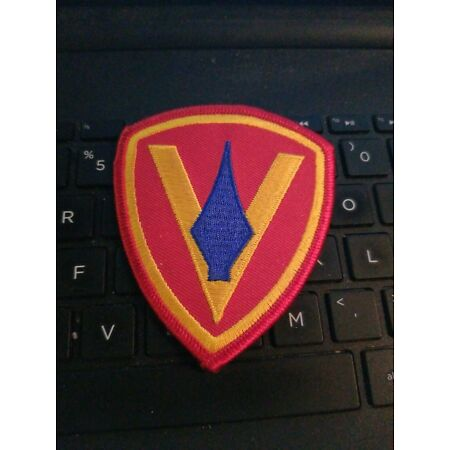 img-USMC 5th Marine Division Shoulder Patch NEW SEE STORE usmc PATCHES /BADGE SALE