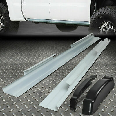 For 01-07 CHEVY SILVERADO SIERRA 4DR CREW CAB ROCKER PANELS AND CAB CORNERS KIT