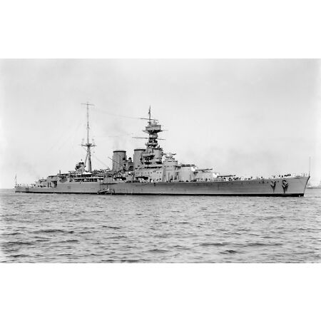 img-6x4 Gloss Photo ww4EFJ World War 2 Pictures HMS Hood Admiral Class Battlecruiser