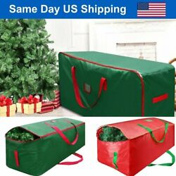 Kyпить Green Christmas Tree Storage Bag Heavy Duty Holiday Up to 9 Ft. Trees w Handles на еВаy.соm