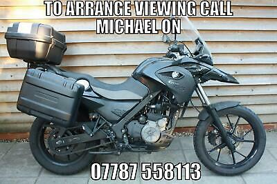 2015 / 65 BMW G 650 GS ABS £4000 Black 16921 miles.