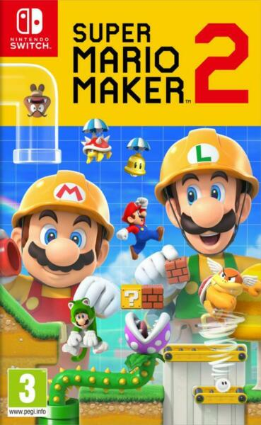 SUPER MARIO MAKER 2 SWITCH IT