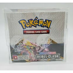 Kyпить Pokemon Booster Box Acrylic Case Framing/Display Quality Original Case Only на еВаy.соm
