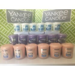 Kyпить Lot of 6 YANKEE CANDLE Votives ~ Samplers ~ You Choose Scent ~ NEW in Plastic на еВаy.соm