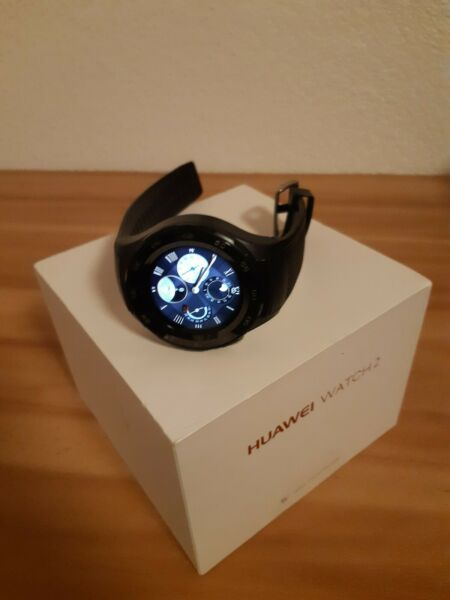 Huawei Watch 2 4g(sim) wifi carbon black Smartwatch