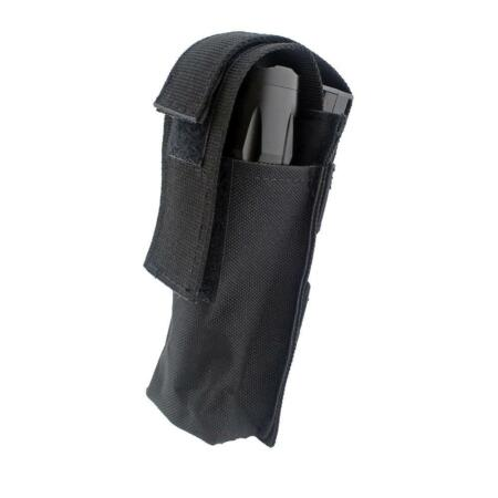 img-Tactical Torch Flashlight Bag Military Pouch Portable Molle EMT Scissor Bag