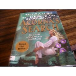 Acorna's Search by Elizabeth A. Scarborough and Anne McCaffrey SIGNED Limited Ed