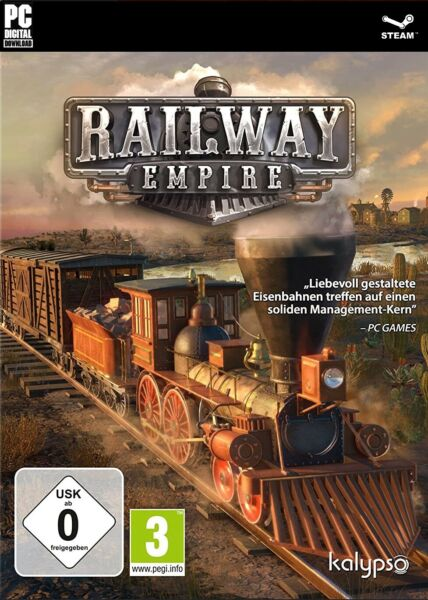 AllemagneRailway Empire - STEAM KEY - Code - Download - Digital - PC & Linux