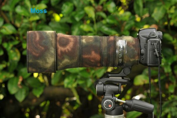 Royaume-UniSigma 150 600mm  Protection Objectif Néoprène Housse Luxe Camouflage