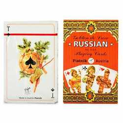Kyпить Golden Russia PLAYING CARDS 55 Cards Deck Classic Set Made in Austria  на еВаy.соm