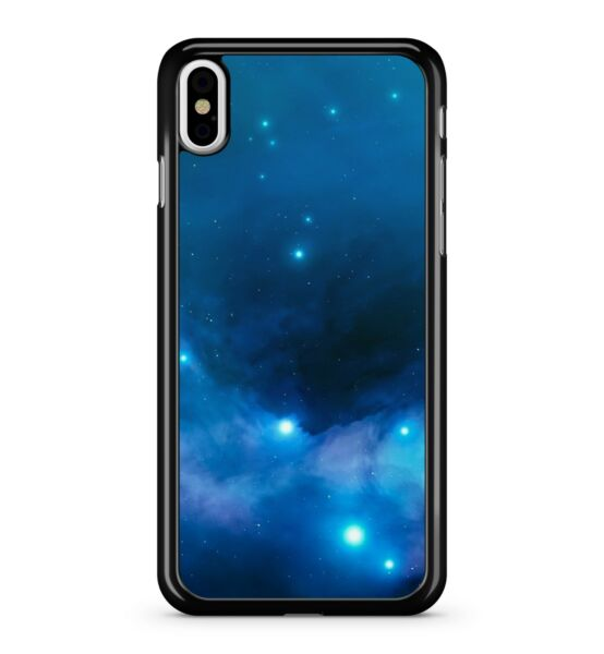 Royaume-UniBleu Stars Milky Way Galaxy Nebuleuse Galactic Space Astronomique 2D Etui Housse