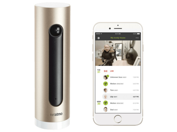 Netatmo Welcome Smart Home Indoor Camera with Face Detection