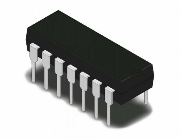 TC4001BP (Equivalent TO CD4001 ) IC Quad 2-INPUT Nor Gate DIP14 (QTY: 10 PEZZi)