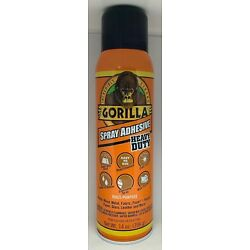 Kyпить Gorilla Heavy Duty Spray Adhesive, Multipurpose and Repositionable, 14 ounce, на еВаy.соm