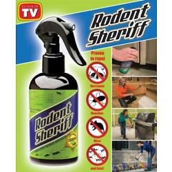 Kyпить Rodent Sheriff 8 oz Natural Mint Pest Spray repels mice, raccoons, roaches, ants на еВаy.соm
