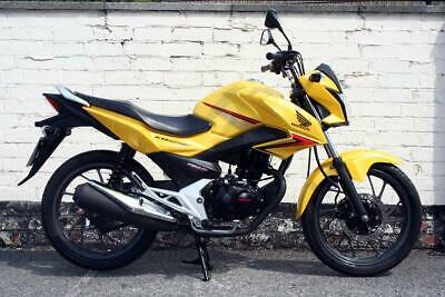 2016 Honda CB125 F | Yellow Honda GLR125 | Honda Learner Legal Commuter Bikes