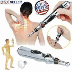 Therapy Electronic Acupuncture Pen Meridian Energy Heal Massage Pain Relief USA