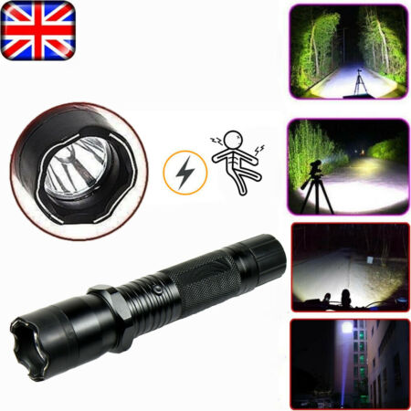 img-15000LM T6 18650 LED Flashlight Rechargeable Outdoor Super Bright Torch Lamp