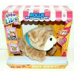 Kyпить New Little Live Pets My Kissing Puppy Rollie Plush Fuzzy Brown Dog 25+ Sounds на еВаy.соm