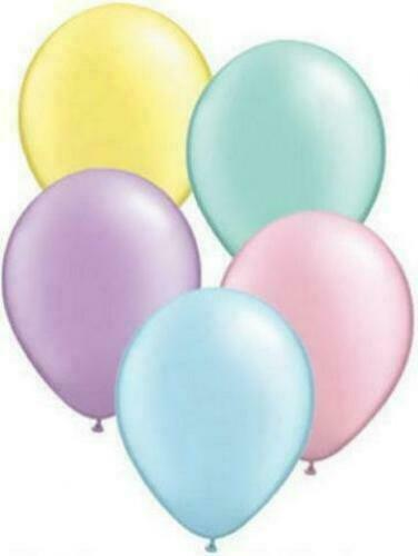 Royaume-UniQualatex Pastel Perle  27.9cm Latex Hélium Qualité Ballons Décoration