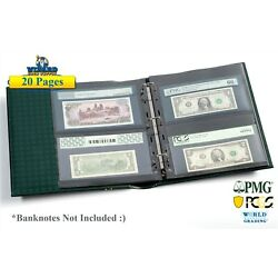 Kyпить 20 Lighthouse Grande 2 Pocket Pages For Cerfified Graded PMG PCGS Bills / FDC на еВаy.соm