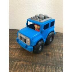 Kyпить Mega Bloks Jeep Wrangler Lil' Off Roader Block Buddy First Builders Rare на еВаy.соm