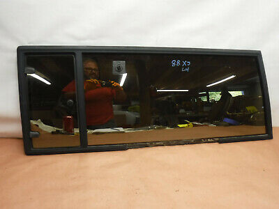 Jeep Cherokee XJ 84-96 2 Door Driver Side Rear Quarter Glass Tinted Factory