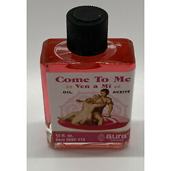 Come To Me Oil (Ven a Mi Aceite) 1/2oz Bottle Love Attraction Spells Fragrance