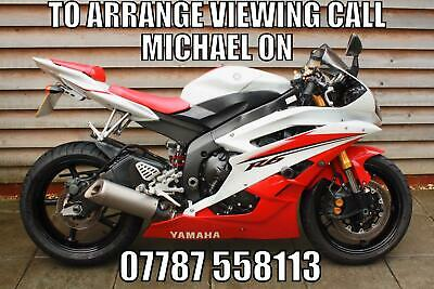 2007 / 07 Yamaha YZF R6 £4600 Red 13891 miles.