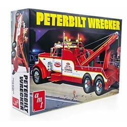 Kyпить AMT Peterbilt 359 Wrecker Model Kit - 1/25 Scale Buildable Tow Truck на еВаy.соm
