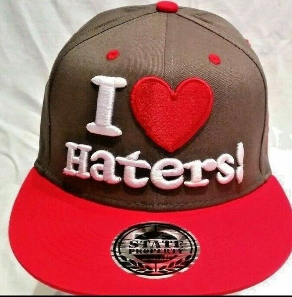 Royaume-UniI Love Haters  Baseball Enfants & Adultes Urban Hip Hop Rue Un Taille