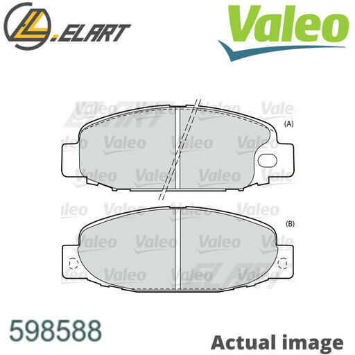 LituanieDISC BRAKE PADS SET  FOR MITSUBISHI CANTER FE5 FE6 6 GENERATION VALEO