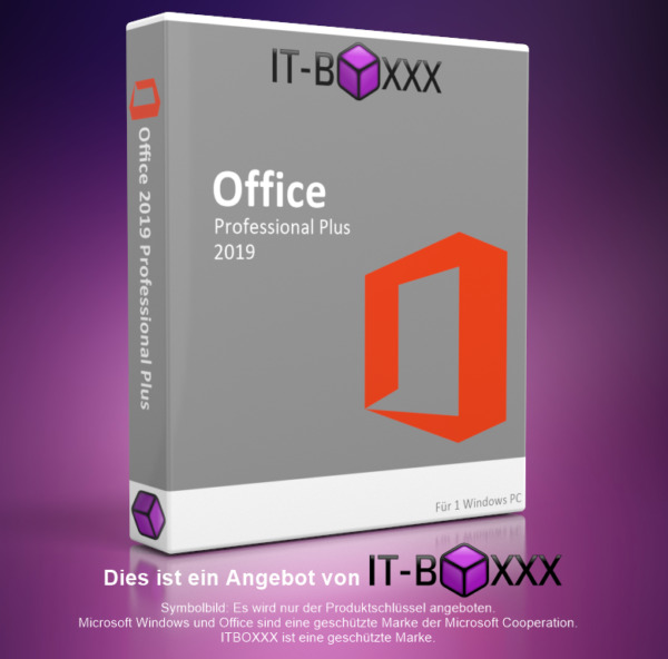 AllemagneOriginal Microsoft® Office 2019 Professional Plus MS Pro esd Word Exel Outlook