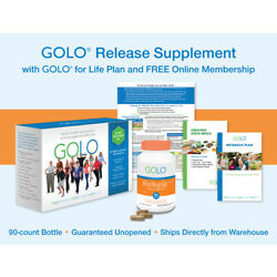 GOLO for Life Plan w/ Release Supplement - ONLY AUTHORIZED SELLER