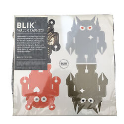 Blik Wall Giant Robot Re-Stik Self Adhesive Movable Wall Decals