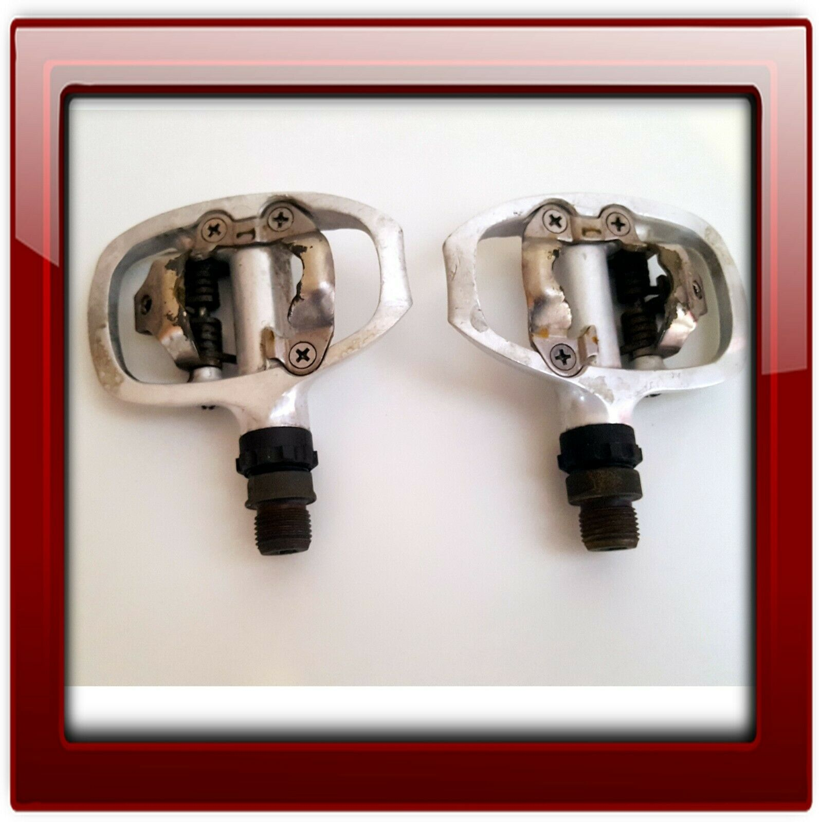 SHIMANO TIAGRA PD-A520 SPD ROAD//TOURING CYCLING PEDALS W//SM-SH51 CLEATS