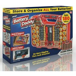 Kyпить Battery Daddy Battery Organizer and Battery Storage System Case with Tester на еВаy.соm