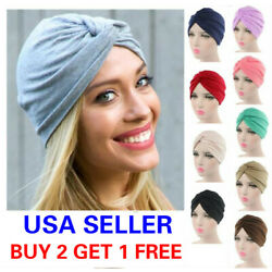 Kyпить Cotton Women Turban Ladies Hair Head Hijab Cap Muslim Wrap Stretch Hat Scarf на еВаy.соm