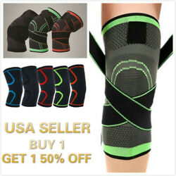 Kyпить Knee Sleeve Compression Brace Support For Sport Joint Pain Arthritis Relief на еВаy.соm