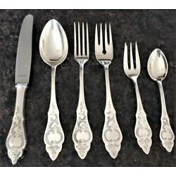Kyпить RARE Art Nouveau Germany Silver 90 Flatware~ Place Setting~ Spoons Forks Knife на еВаy.соm