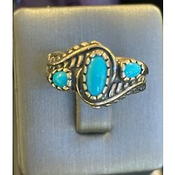 Kyпить Carolyn Pollack Blue Turquoise Ring на еВаy.соm