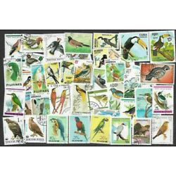 Kyпить Birds 100 all different stamps collection на еВаy.соm
